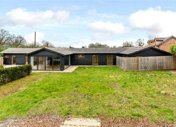 Thumbnail 3 bed detached bungalow to rent in White Lodge Farm, Bulls Lane, Hatfield, Hertfordshire