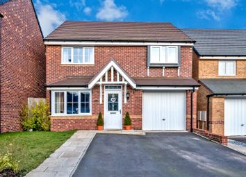 Thumbnail 4 bed detached house for sale in Cooke Way, Hednesford, Cannock
