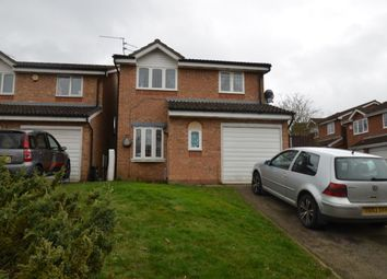 Thumbnail 3 bed detached house for sale in Buttermere Close, Kettering