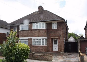 Thumbnail 3 bed semi-detached house to rent in Howberry Road, Edgware, Middlesex, UK