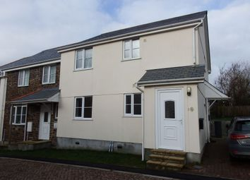 Thumbnail 1 bed flat to rent in Windwards Close, Lanreath, Looe