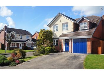 Thumbnail 4 bed detached house for sale in Cloverfields, Haslington