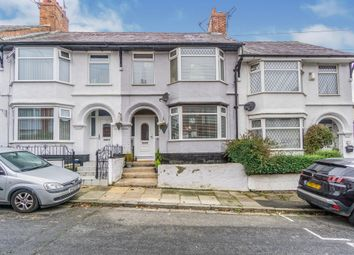 Thumbnail 3 bed terraced house for sale in Westdale Road, Tranmere, Birkenhead