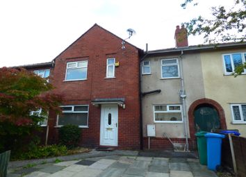 Thumbnail 4 bedroom terraced house to rent in Gatley Avenue, Manchester