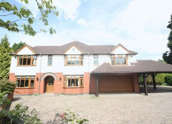 Thumbnail 5 bedroom detached house for sale in Coventry Road, Fillongley, Coventry