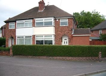 Thumbnail 3 bed semi-detached house to rent in Lawfred Avenue, Wednesfield, Wolverhampton