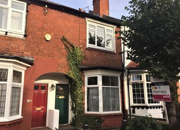 Thumbnail 2 bed terraced house to rent in Swindon Road, Edgbaston, Birmingham