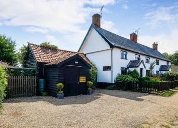 Thumbnail 3 bed semi-detached house for sale in Cratfield, Halesworth