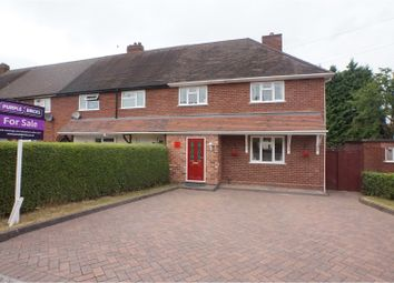 Thumbnail 3 bed end terrace house for sale in The Garth, Lichfield