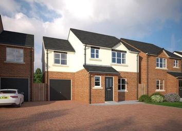 Thumbnail 4 bed detached house for sale in The Common, Knowle Lane, Buckley, Flintshire