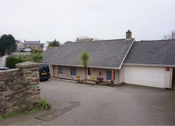 Thumbnail 4 bedroom detached bungalow for sale in Barncoose Terrace, Redruth