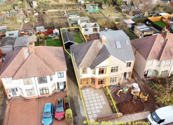 Thumbnail 3 bed semi-detached house for sale in Prince Of Wales Road, Chapelfields, Coventry