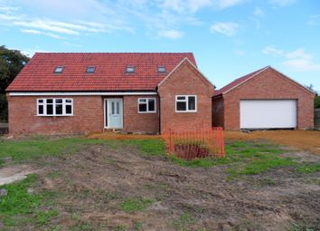 Thumbnail 3 bed detached house for sale in Abbotts Drive, Islebridge Road, Outwell, Wisbech, Cambridgeshire
