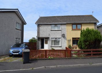 Thumbnail 2 bed semi-detached house for sale in Ailsa Road, Saltcoats, North Ayrshire