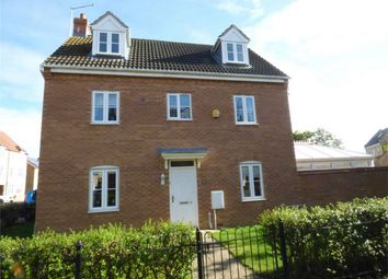 Thumbnail 4 bed detached house for sale in Crystal Drive, British Sugar, Peterborough