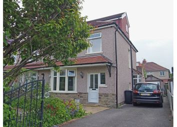 Thumbnail 4 bed semi-detached house for sale in Burlington Avenue, Morecambe