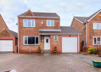 Thumbnail 4 bed detached house for sale in Carrfields, Goole