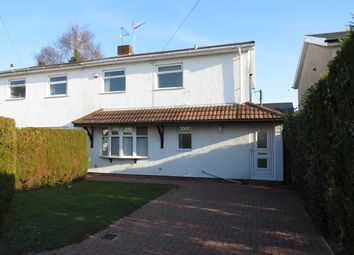 Thumbnail 3 bed property to rent in Orchard Close, Marshfield, Cardiff
