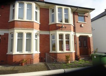 Thumbnail 2 bedroom flat to rent in Leckwith Avenue, Canton, Cardiff