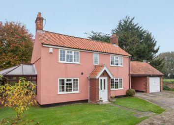Thumbnail 3 bed cottage for sale in School Lane, Little Melton, Norwich