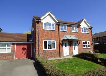Thumbnail 3 bed semi-detached house for sale in Azalea Road, Wick St. Lawrence, Weston-Super-Mare