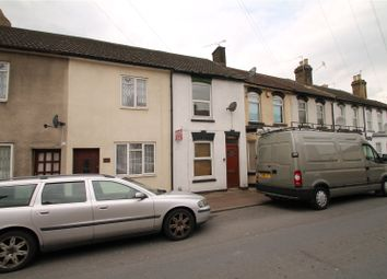 Thumbnail 3 bed terraced house to rent in Thorold Road, Chatham, Kent