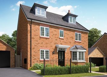"""Thumbnail 5 bed detached house for sale in """"The Fletcher"""" at Hartburn, Morpeth"""
