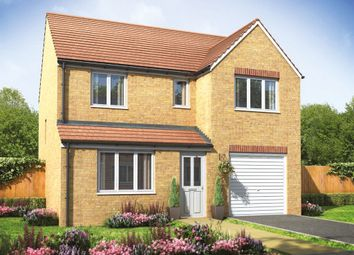 "Thumbnail 4 bed detached house for sale in ""The Longthorpe"" at Mortimers Lane, Fair Oak, Eastleigh"