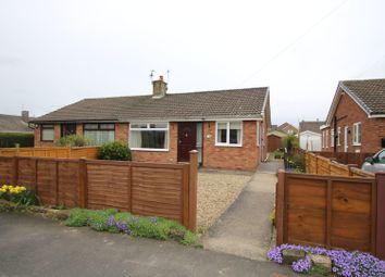 Thumbnail 2 bed semi-detached bungalow for sale in Mendip Close, York