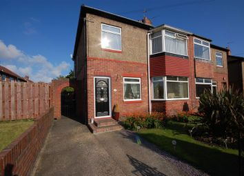 Thumbnail 2 bed flat for sale in Elmcroft Road, Forest Hall, Newcastle Upon Tyne