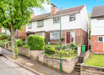 Thumbnail 3 bed semi-detached house for sale in Warren Avenue, Nottingham