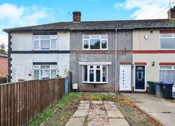 Thumbnail 2 bed terraced house for sale in Beauvale Road, Hucknall, Nottingham