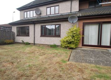 Thumbnail 3 bed flat for sale in Leven Walk, Livingston