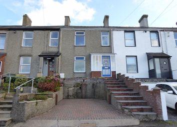 Thumbnail 3 bed terraced house for sale in Sea View Terrace, Y Felinheli