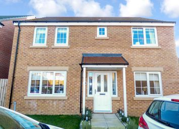 Thumbnail 4 bed detached house for sale in Belfry Close, Ashington