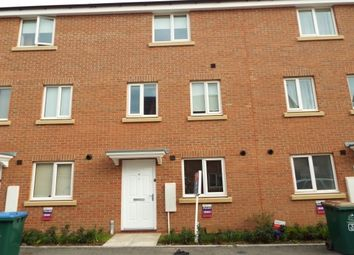 Thumbnail 4 bedroom town house to rent in Signals Drive, New Stoke Village CV3, Coventry