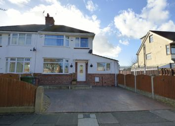 Thumbnail 3 bed semi-detached house for sale in Queenswood Avenue, Bebington, Wirral