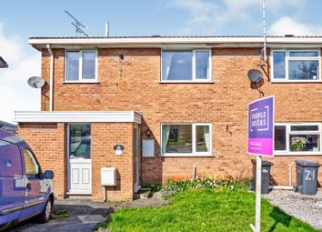 Thumbnail 3 bed town house for sale in Hill Close, Uttoxeter