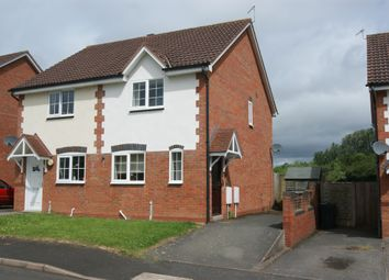 Thumbnail 2 bed semi-detached house to rent in Mill Meadow, Tenbury Wells