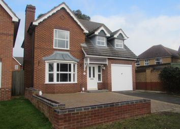 Thumbnail 4 bedroom detached house for sale in Birchen Close, Hampton Hargate, Peterborough
