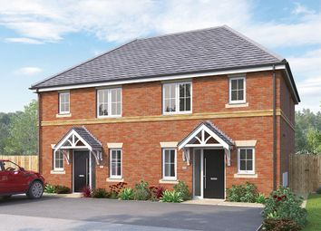 "Thumbnail 3 bed semi-detached house for sale in ""The Hamilton"" at Greaves Lane, Stannington, Sheffield"