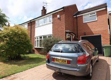 Thumbnail 4 bed semi-detached house for sale in Dalesford Crescent, Macclesfield