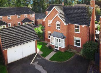 Thumbnail 4 bedroom detached house for sale in Hornbeam Close, Oadby, Leicester