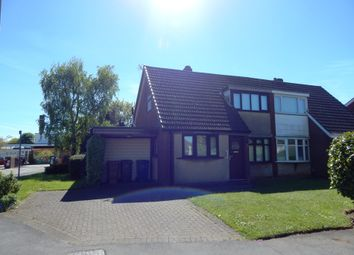 Thumbnail 4 bed semi-detached house for sale in Woodland Way, Burntwood