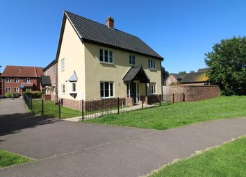 Thumbnail 4 bed detached house for sale in Captain Ford Way, Dereham