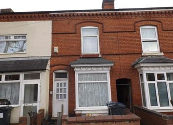 Thumbnail 3 bed terraced house for sale in Pretoria Road, Bordesley Green, Birmingham, West Midlands