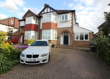 Thumbnail 4 bed semi-detached house for sale in The Manor Drive, Worcester Park