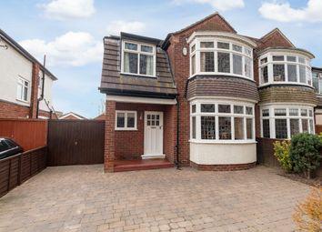Thumbnail 3 bed semi-detached house for sale in Elton Road, Darlington