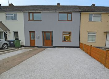 Thumbnail 3 bed terraced house for sale in 37 Round Avenue, Long Lawford, Rugby, Warwickshire