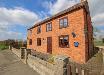 Thumbnail 4 bed detached house for sale in Main Street, Osgodby, Market Rasen, Lincolnshire